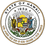 Seal of the State of Hawaii.