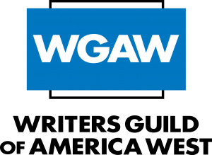 Writers Guild of America West logo.