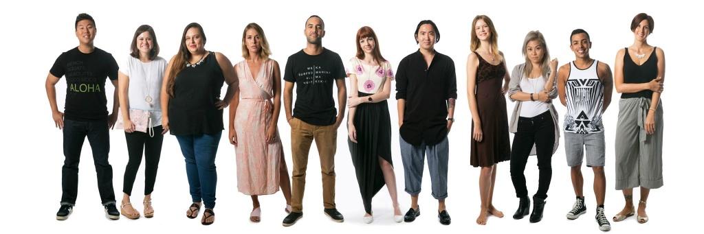 2015 Creative Lab Hawaii Fashion Immersive Cohort